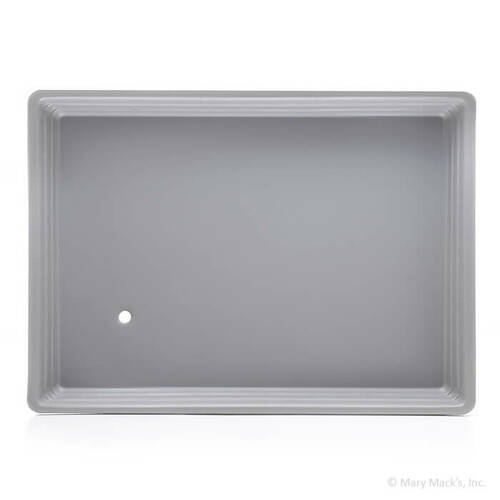 Gray Shaved Ice Drip Pan