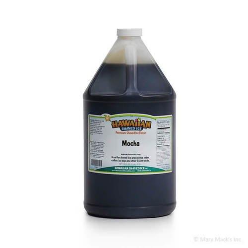 Mocha Shaved Ice Syrup