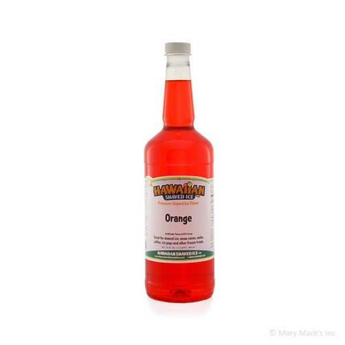 Orange Shaved Ice Syrup
