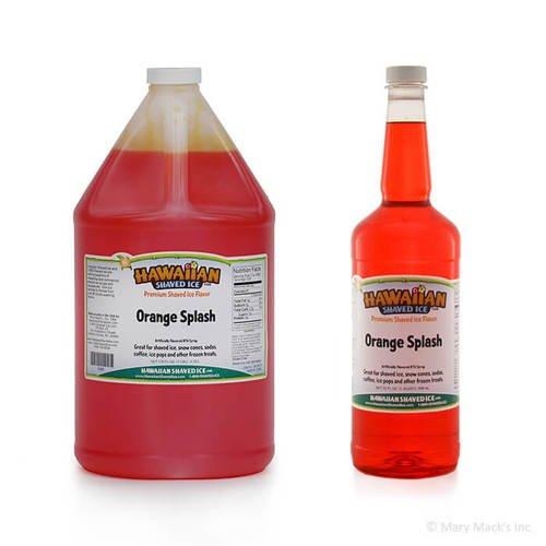 Orange Splash Shaved Ice Syrup