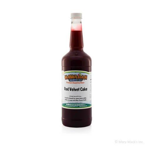 Red Velvet Shaved Ice Syrup