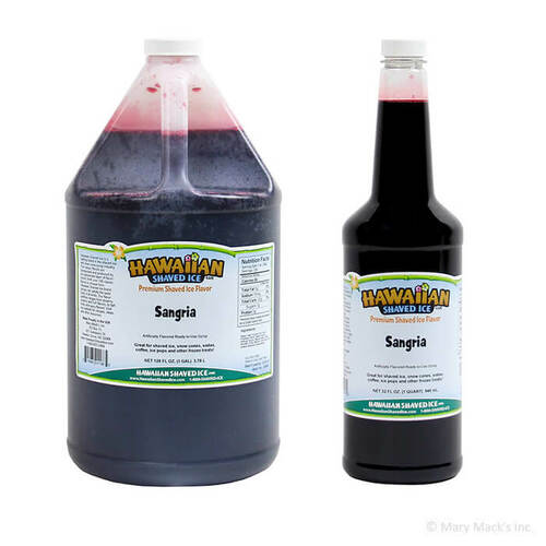 Sangria Shaved Ice Syrup