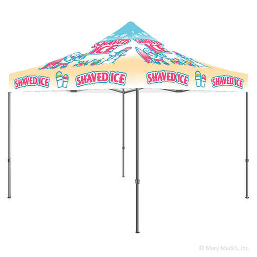 Shaved Ice Vending Tent