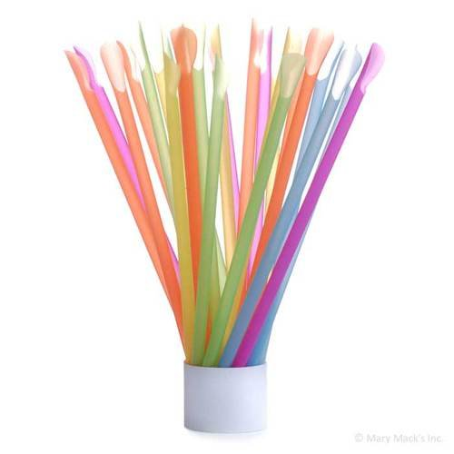 Ice Spoon Straws for Shaved Ice