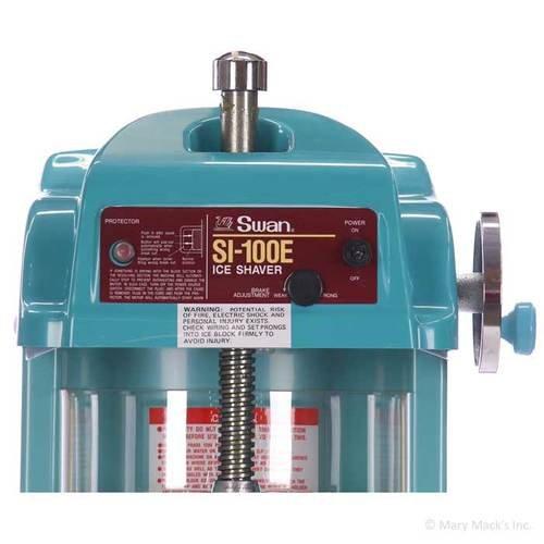 Swan SI-10BEA Battery Powered Block Shaved Ice Machine