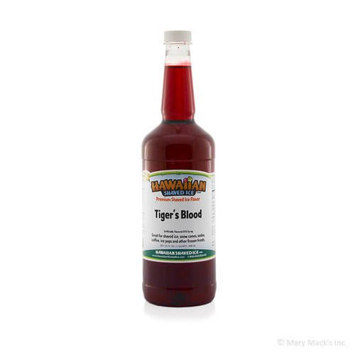 Tiger's Blood Shaved Ice Syrup
