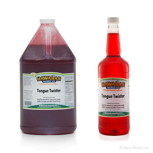 Tongue Twister Shaved Ice Syrup
