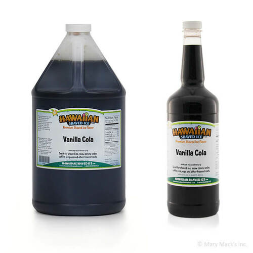 Vanilla Cola Shaved Ice Syrup