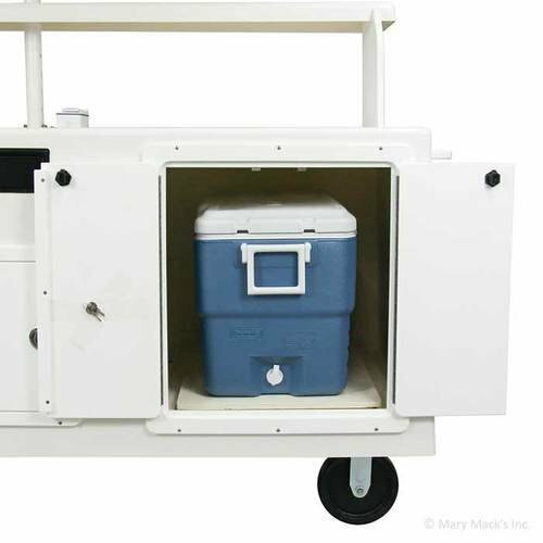 Vendi Fiberglass Shaved Ice Cart