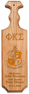 Phi Kappa Sigma Traditional Greek Paddle