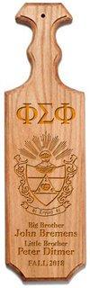 Phi Sigma Phi Traditional Greek Paddle