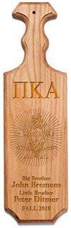 Pi Kappa Alpha Traditional Greek Paddle