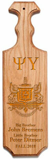 Psi Upsilon Traditional Greek Paddle