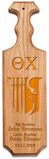 Theta Chi Traditional Greek Paddle