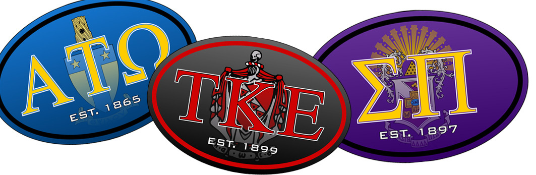 Top Selling Fraternity Decal