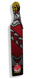 Full Color Crest - Shield Background Greek Paddles