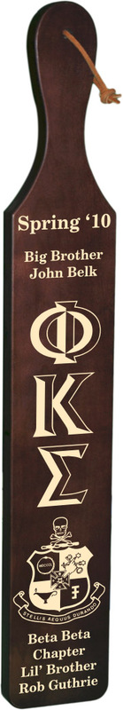 Phi Kappa Sigma Deluxe Paddle