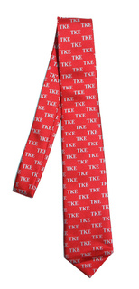 Tau Kappa Epsilon Lettered Woven Necktie