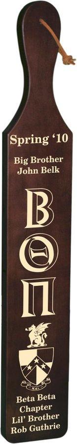 Beta Theta Pi Deluxe Paddle