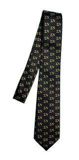 Sigma Nu Lettered Woven Necktie