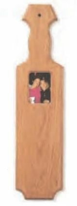 Large Blank Picture Frame Paddle - Clearance
