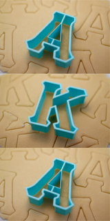 Alpha Kappa Alpha Cookie Cutters