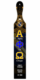 Alpha Phi Omega Custom Full Color Paddle