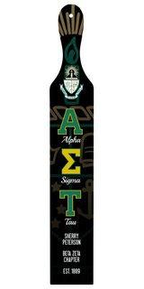 Alpha Sigma Tau Custom Full Color Paddle