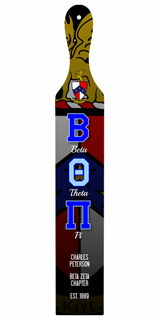 Beta Theta Pi Custom Full Color Paddle