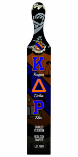 Kappa Delta Rho Custom Full Color Paddle