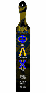 Phi Lambda Chi Custom Full Color Paddle