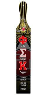 Phi Sigma Kappa Custom Full Color Paddle
