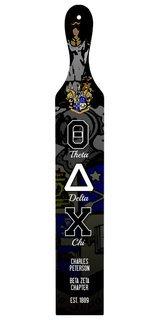 Theta Delta Chi Custom Full Color Paddle