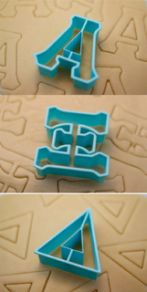 Alpha Xi Delta Cookie Cutters