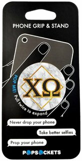 Chi Omega Diamond Pop Socket