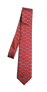 Phi Sigma Kappa Lettered Woven Necktie