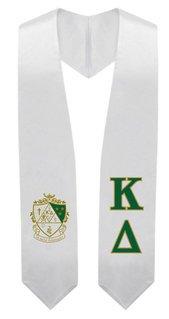Kappa Delta Super Crest - Shield Graduation Stole
