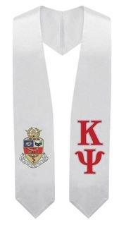 Kappa Psi Super Crest - Shield Graduation Stole
