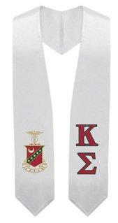 Kappa Sigma Super Crest - Shield Graduation Stole