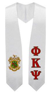 Phi Kappa Psi Super Crest - Shield Graduation Stole