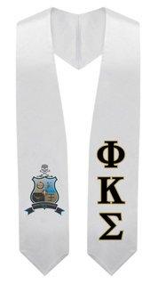Phi Kappa Sigma Super Crest - Shield Graduation Stole
