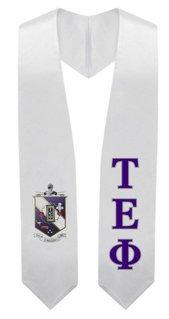 Tau Epsilon Phi Super Crest - Shield Graduation Stole