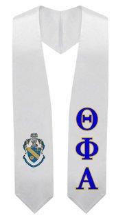 Theta Phi Alpha Super Crest - Shield Graduation Stole