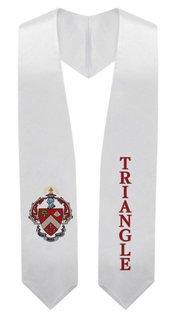 Triangle Super Crest - Shield Graduation Stole