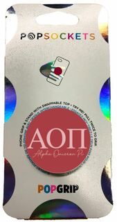 Alpha Omicron Pi 2-Color PopSocket