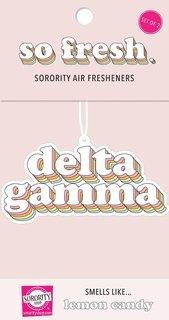 Delta Gamma Retro Air Freshener (2 pack)