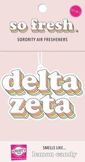 Delta Zeta Retro Air Freshener (2 pack)