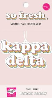 Kappa Delta Retro Air Freshener (2 pack)