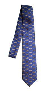 Delta Kappa Epsilon Lettered Woven Necktie