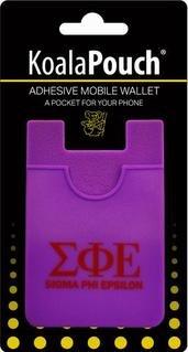 Sigma Phi Epsilon Koala Pouch Phone Wallet
